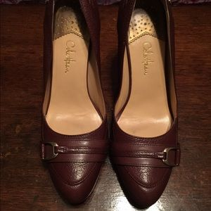 Cole Haan Shoes - Brown leather pumps
